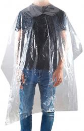 REDONE CAPE PLASTIQUE JETABLE XL x 50 - 100 x 140 cm